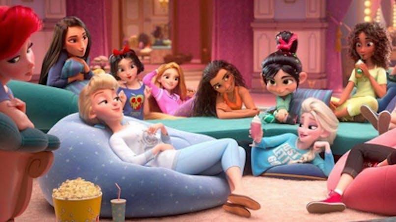 Les Mondes de Ralph 2 : Disney accusé d'avoir éclairci la couleur de peau de deux princesses