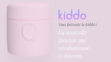 Kiddo'z, la doseuse qui s'adapte aux biberons pour parents nomades.