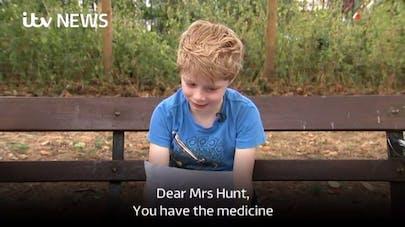A 8 ans, il écrit à un laboratoire pharmaceutique pour l'inciter à baisser ses prix