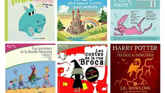 Le top des livres audio jeunesse sur Audible !