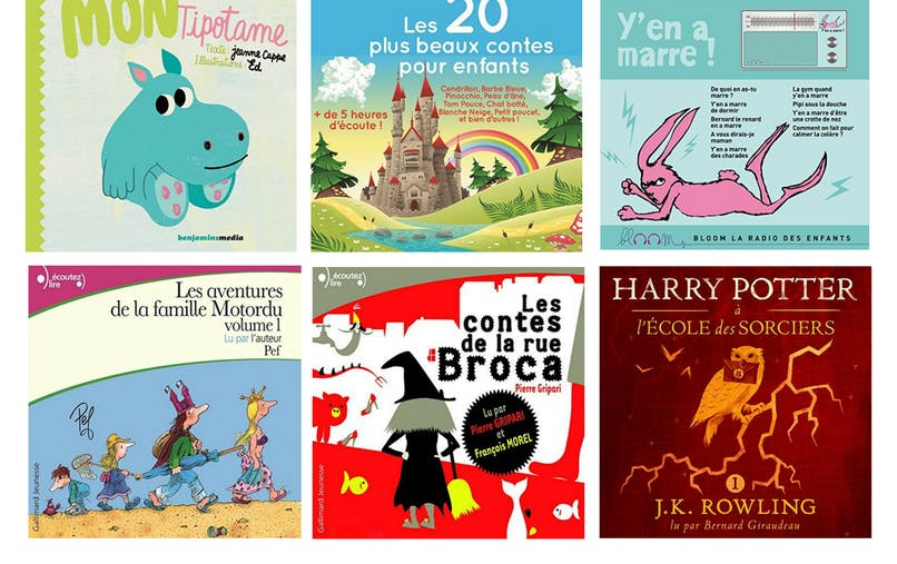 top livres audio jeunesse Audible