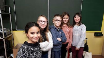 Victor et ses quatre copines de classe