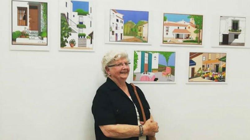 Cette mamie de 88 ans fait des chefs-d'œuvre avec... Paint !