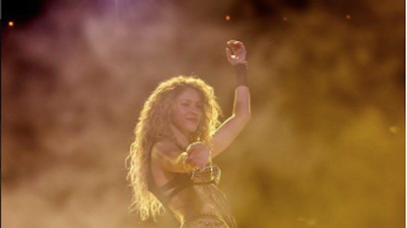 Shakira: un message adorable brandi en plein concert par son fils