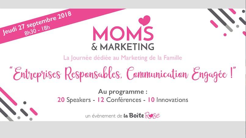 Moms & Marketing, le rendez-vous de l'innovation au service des familles
