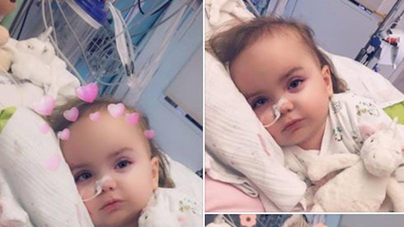Emy souffre de la maladie de Sandhoff: aidez-la en faisant un don