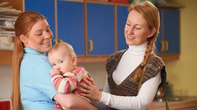 Le mot touchant d'une assistante maternelle à l'attention d'une jeune maman