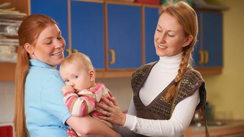 Le mot touchant d'une assistante maternelle pour une jeune maman