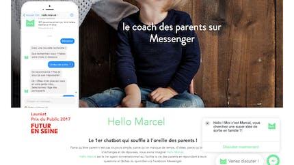 Hello Marcel, le chatbot qui chuchote à l'oreille des parents