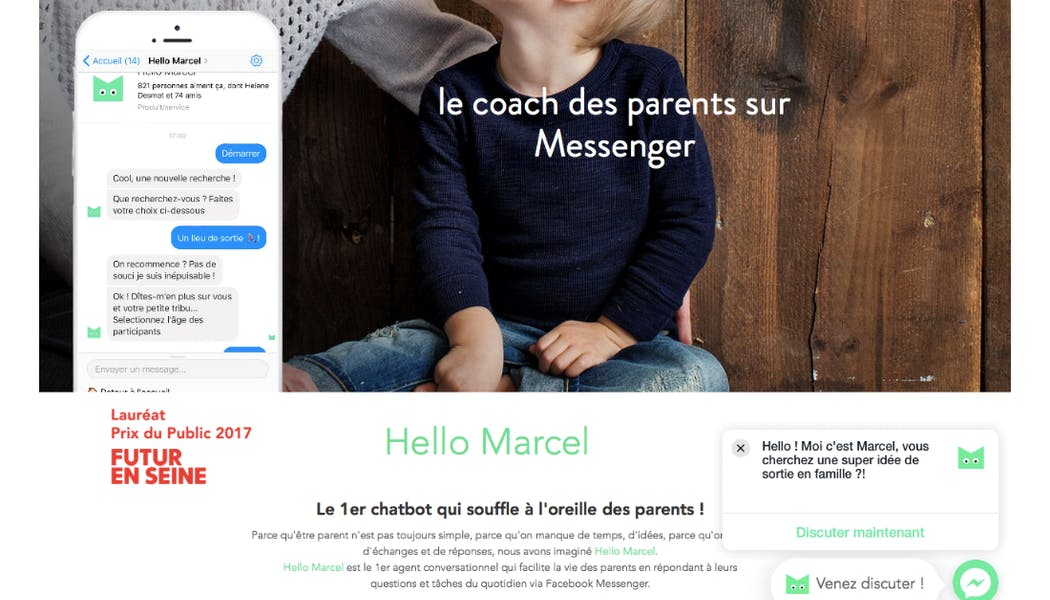 Hello Marcel, le chatbot qui chuchote à l'oreille des parents