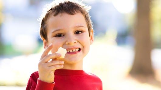 Calcium: pour la moitié des enfants, les besoins ne sont pas couverts