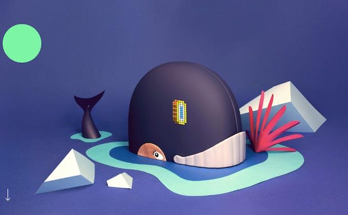 Monimalz baleine