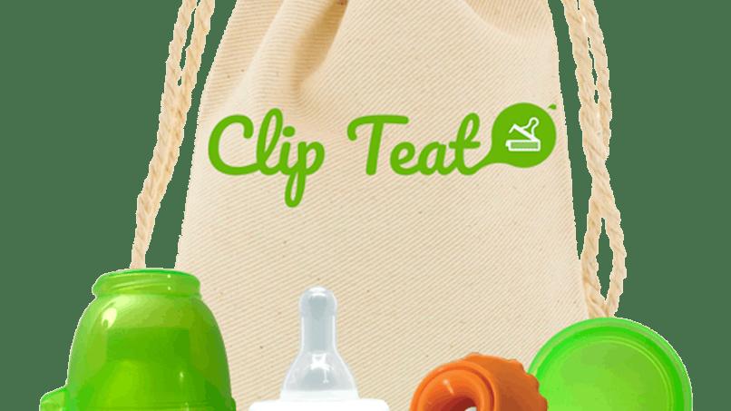 Le Kit à Boire & à Goûter de CLIP TEAT