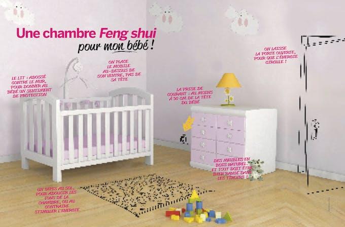 chambre de bébé fend-shui