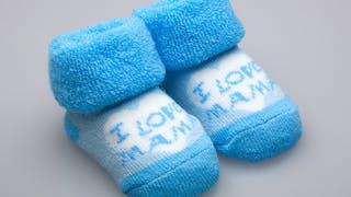 chaussons bébé garçon