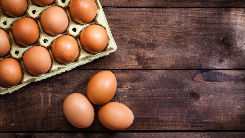 Rappel de boîtes d'œufs après une intoxication alimentaire dans une école