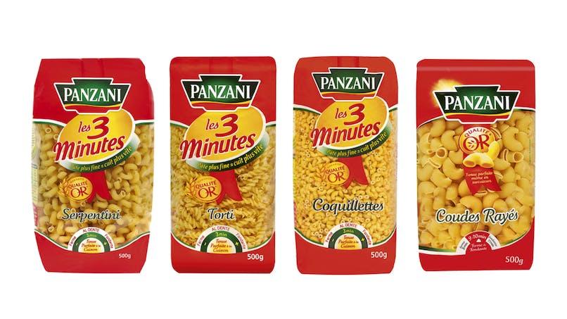 Rappel de produits : plusieurs références de pâtes Panzani