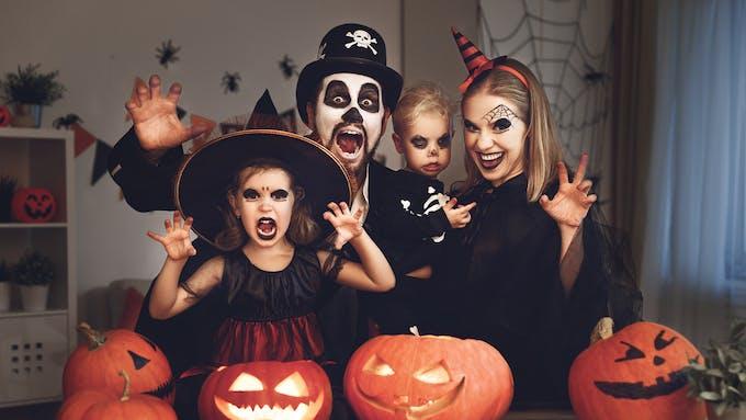 Halloween, les enfants adorent !