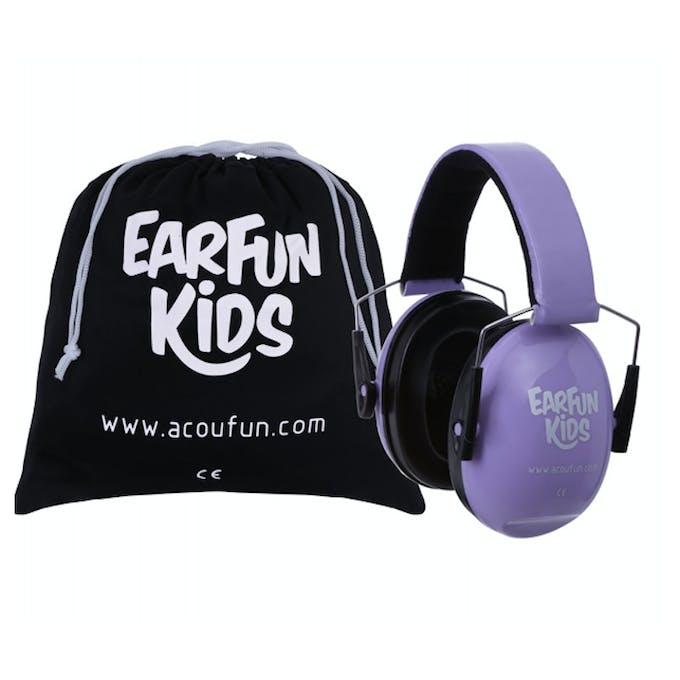 casque violet Earfun kids