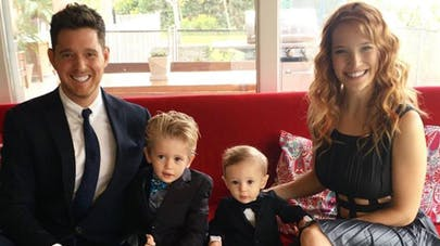 michael buble et sa famille