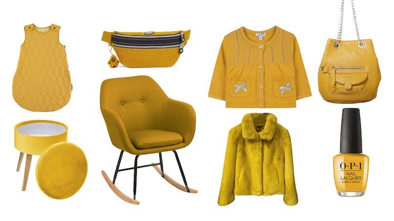 Shopping : jaune moutarde, c'est LA couleur de l'automne ! (diaporama)
