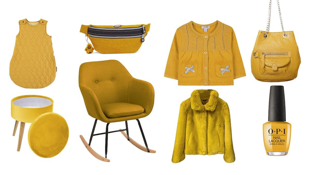 shoppind jaune moutarde