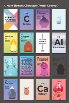 Poster Element Capsules