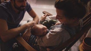 couple avec un bébé