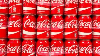 cannettes de coca cola