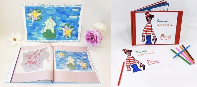 Exemples livres avec dessins enfants