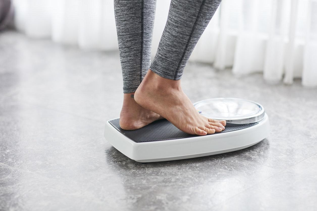 perte de poids normale en un mois