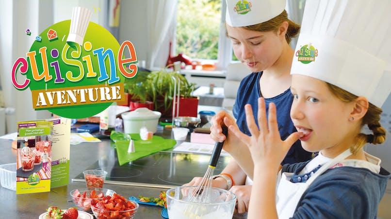 Cuisine Aventure, la box de cuisine personnalisée à domicile pour les enfants