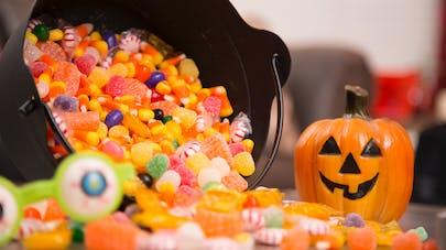 bonbons empoisonnés à Halloween