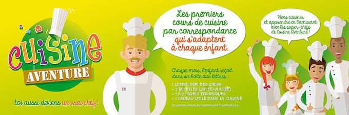 fonctionnement cours cuisine enfants cuisine aventure