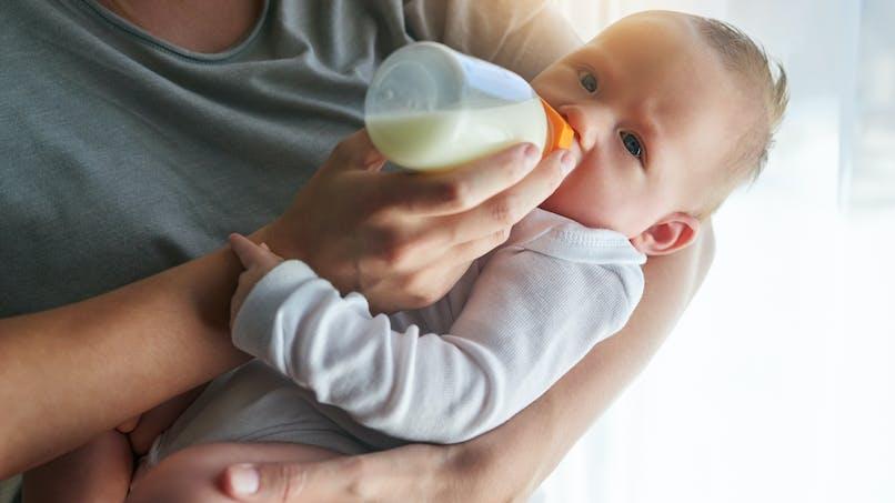 Rappel d'une préparation infantile après la découverte de bactéries