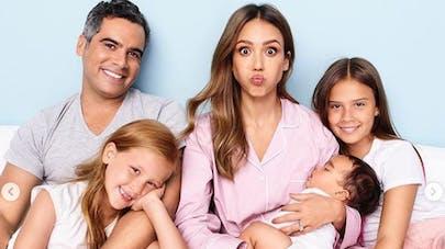 la famille parfaite de Jessica Alba