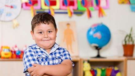 Obésité: les enfants obèses ne se voient pas gros