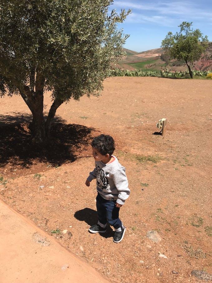 petit garçon afghan