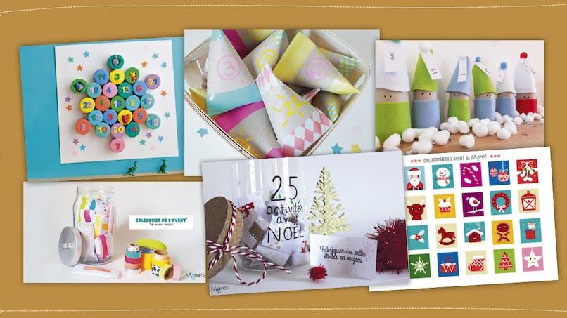 DIY : 8 calendriers de l'Avent à faire avec les enfants (diaporama)