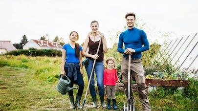 famille et jardinage