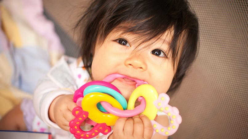 Rappel de deux anneaux de dentition en raison d'un risque d'étouffement