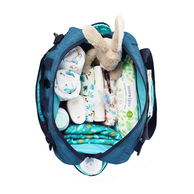 vue intérieure du Sac à langer pour bébé & plus de Bambino Mio