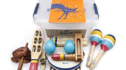mallette d'instruments de musique pour enfants