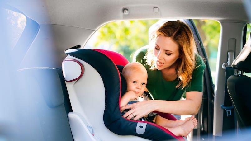 Siège-auto : des produits toxiques présents dans certains modèles