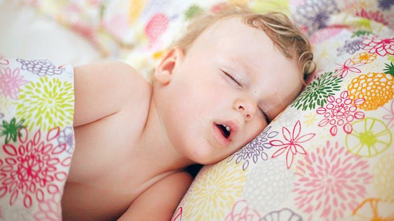 Votre enfant dort la bouche ouverte ? Il pourrait souffrir d'un trouble du sommeil