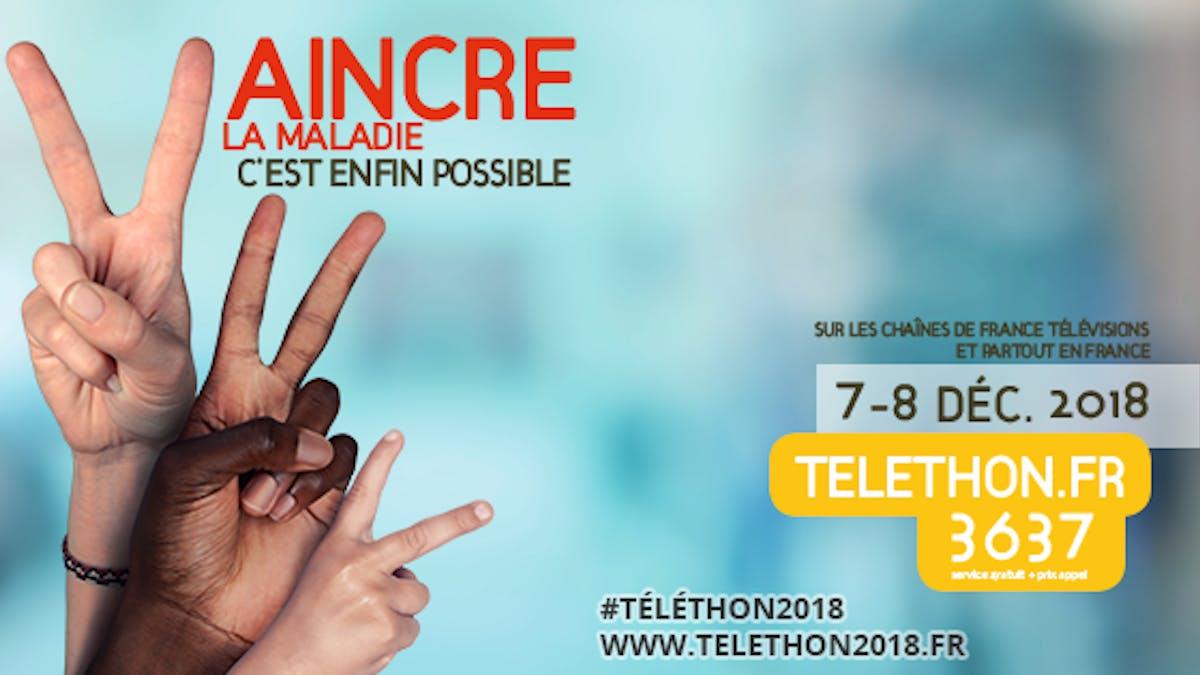 affiche Téléthon 2018