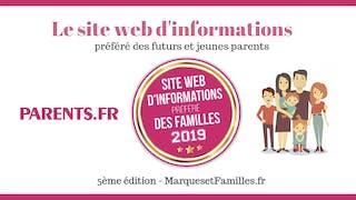 Parents.fr élu  site préféré des familles