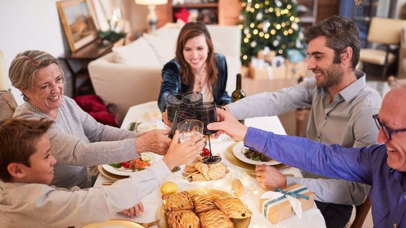 Noël : 1 parent sur 4 n'est pas préparé aux méfaits de la gueule de bois