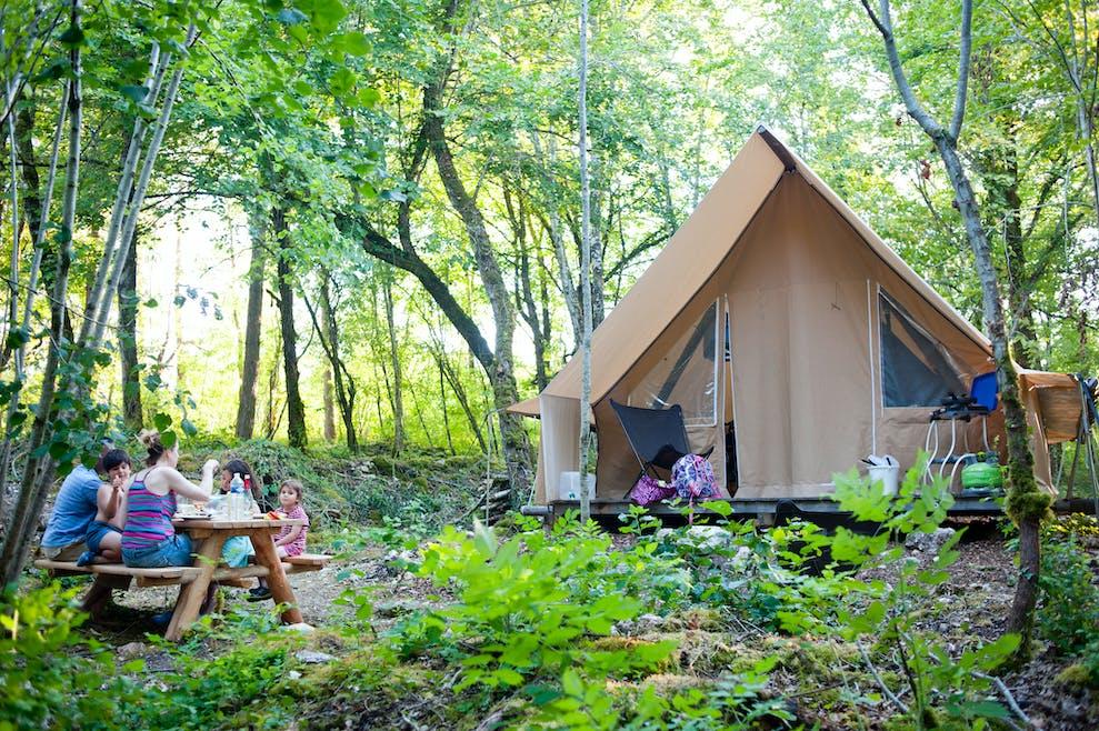 Des vacances nature dans un camping Huttopia