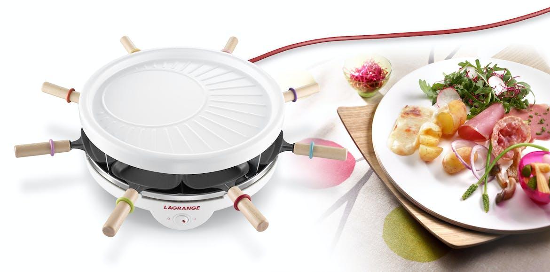 Raclette et crêpes